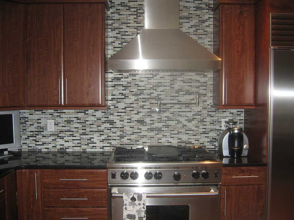 Backsplash modern tuscan designs ideas home designs project Contemporary kitchen tiles ideas