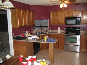 Kitchen cabinet stains colors 2012