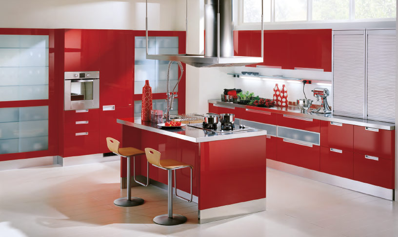 Ikea Red Kitchen Cabinets Home Designs Project