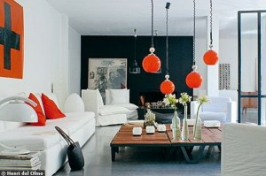 living room lamps and lighting