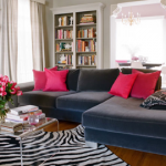 animal print living room designs