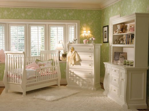 Baby room ideas home designs project for Baby room decor ideas unisex