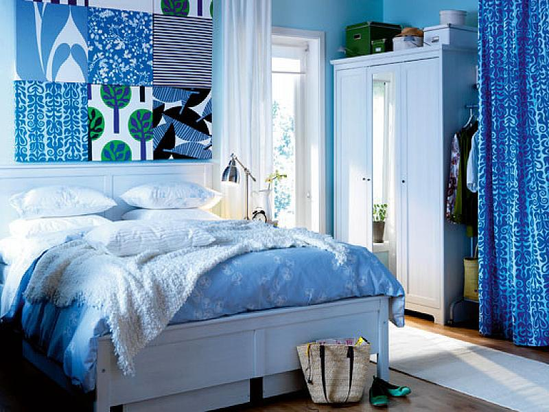 Blue bedroom color ideas blue bedroom colors home for Blue purple bedroom ideas
