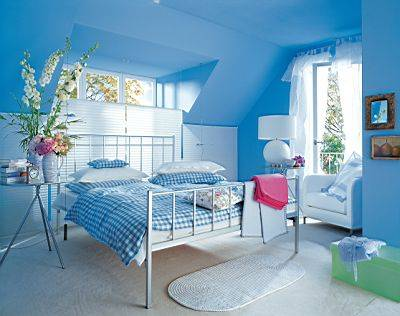 Blue Bedroom Color Ideas for Fresh and Calm Nuance