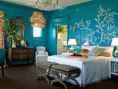 blue bedroom design ideas