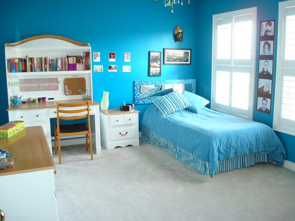 blue bedrooms for boys