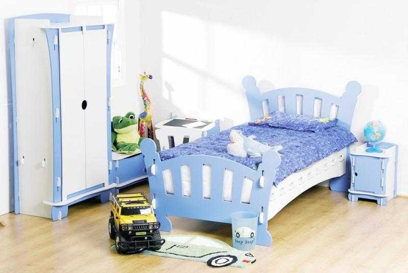 blue bedrooms for kids