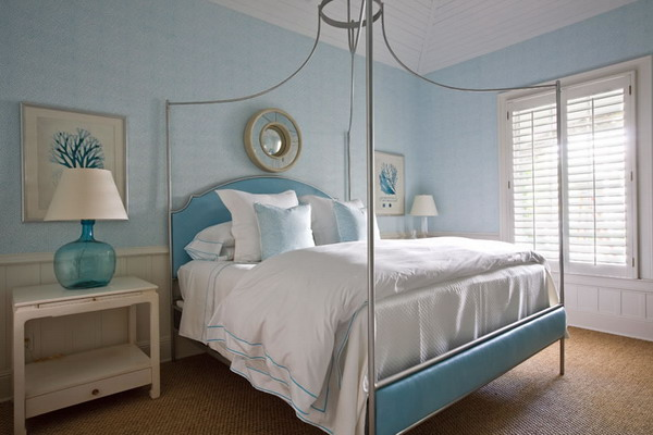 Blue bedroom color ideas blue bedroom colors home for Blue beach bedroom ideas