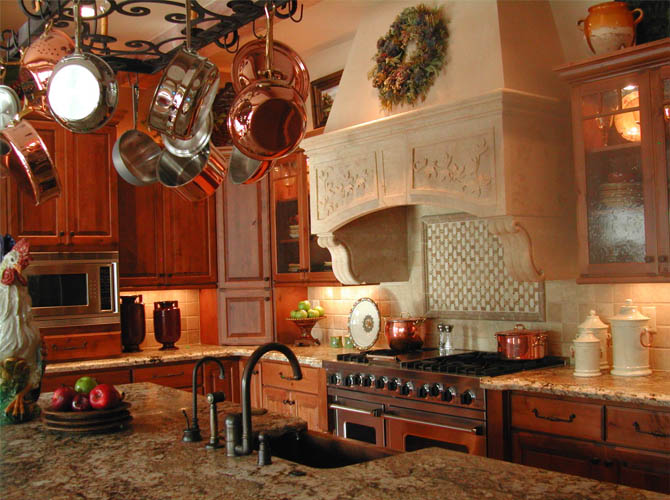 Contemporary country house country house interiors for Country kitchen decor