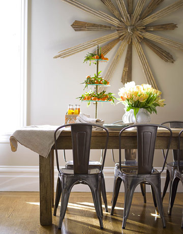 Dining room flower arrangements home designs project for Wall decor for dining room area