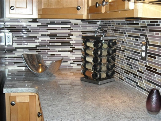 Kitchen tile decorating ideas home designs project Tiling a kitchen wall design ideas