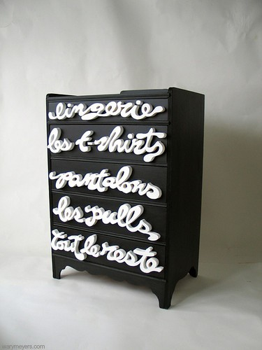 little black dresser furniture