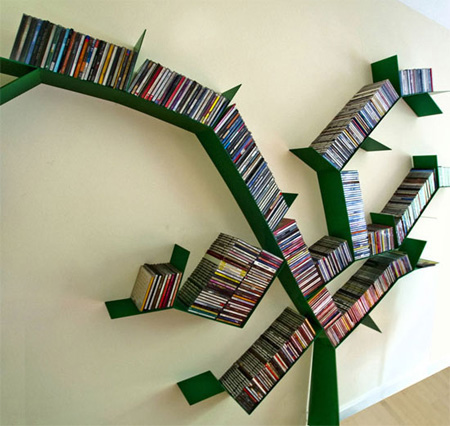 modern shelves design