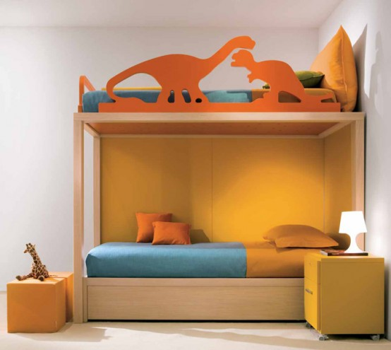 Orange Kids Room: Orange Bedroom Ideas For Boys