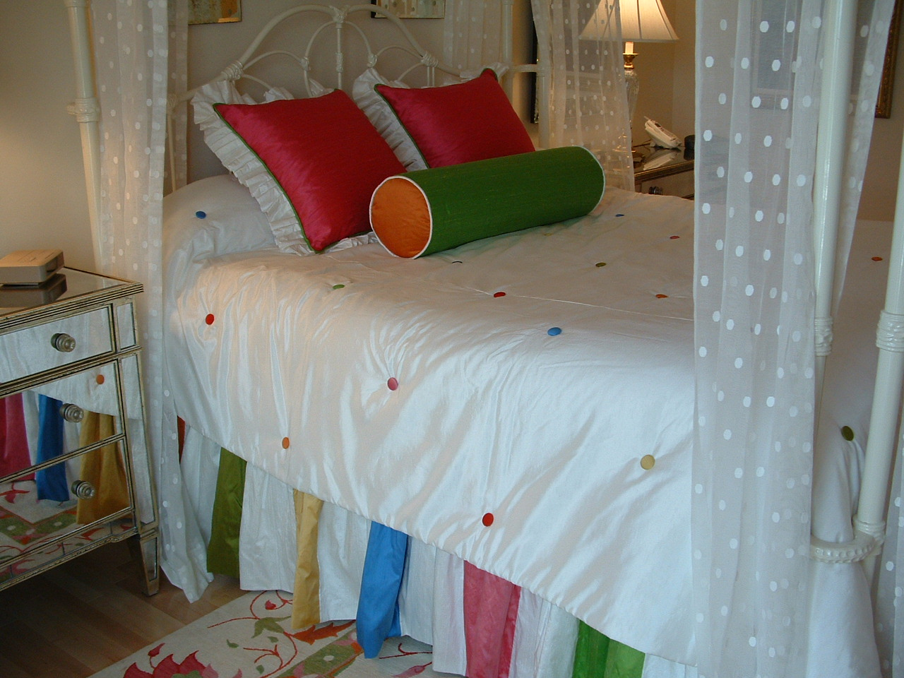 rainbow bedding for girls