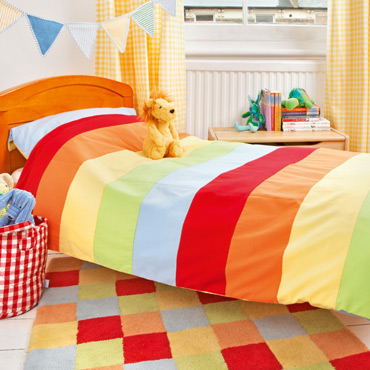 rainbow bedding sets