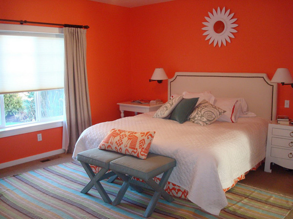 Orange bedroom ideas orange bedroom ideas for girls for Bedroom inspiration orange