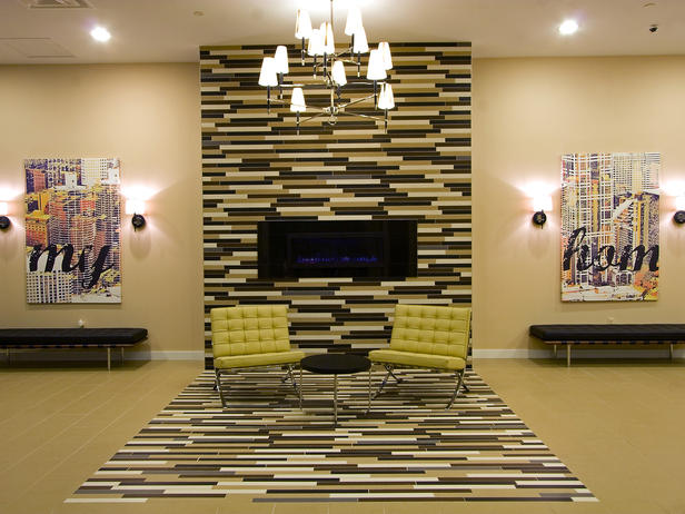tile decorating ideas living room