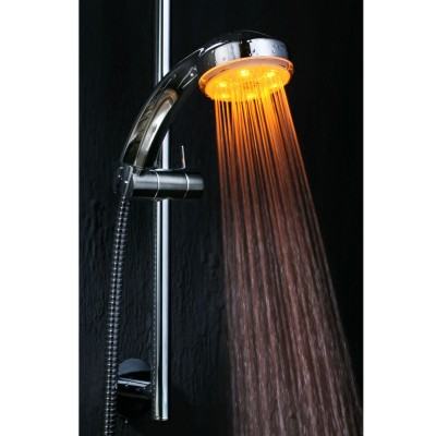 coloured shower | home designs project