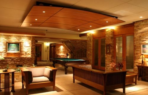 ceiling design of living room