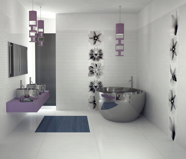 Contemporary bathroom design ideas home designs project for Bathroom decor 2012