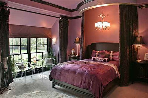 gothic bedroom design