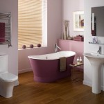 pink bathtub designs