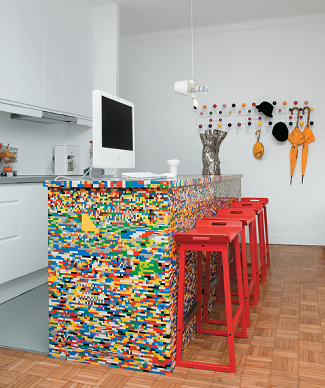 Unique Kitchen Designs New With LEGO Kitchen Island Image