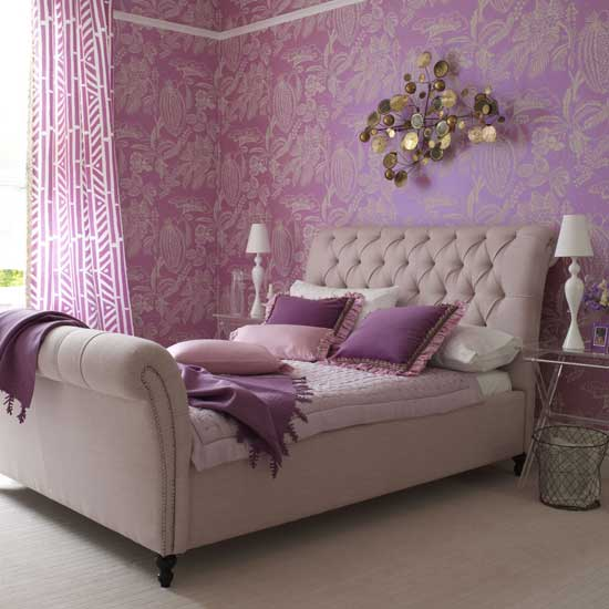 Womens Bedroom Ideas Fair Of Purple and Lavender Bedroom Pictures