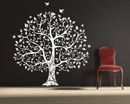 vinyl wall sticker design