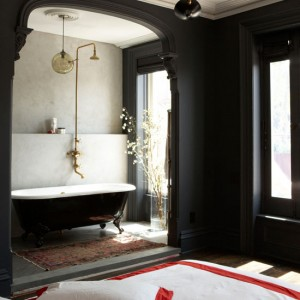 black and white vintage bathroom ideas