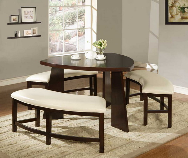 Small dining room decor home designs project - Dining room table small space collection ...