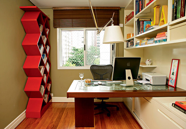 Home office design ideas home designs project - Home office for small spaces photos ...