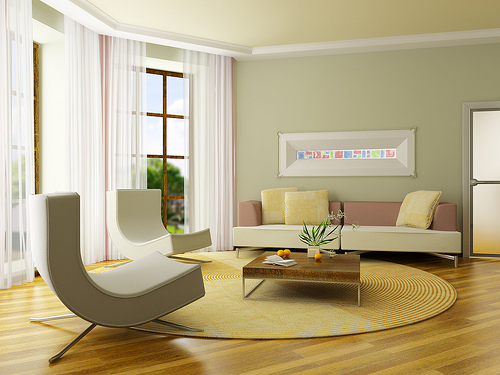 Minimalist living room design home designs project for Living room modern minimalist
