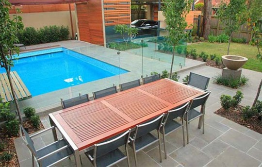outdoor pool designs for small yards
