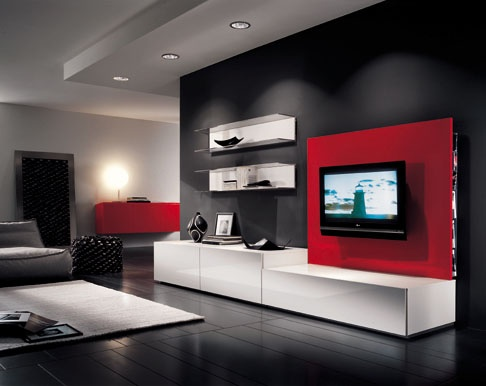 Tv cabinet design home designs project - Tv cabinet design ...