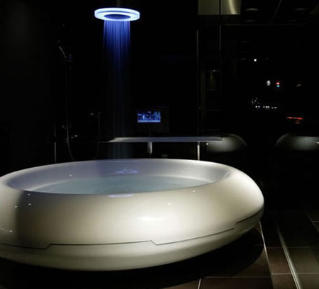 unique bathtub