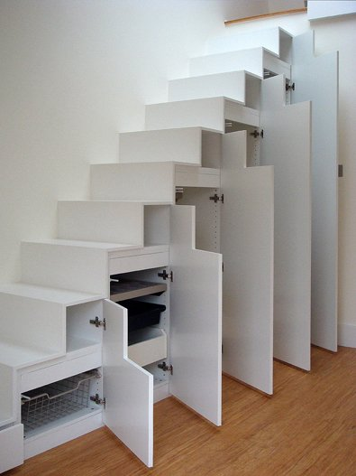 Clever Under Staircase Storage Space Home Designs Project
