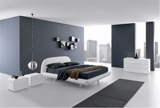 bachelor pad bedroom