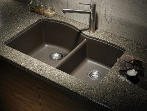 black granite sink cleaner