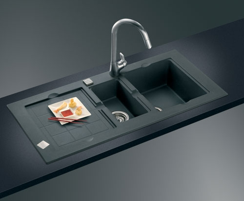 Black Granite Sink : black granite sink cleaner Home Designs Project