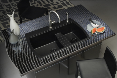 black granite sink sale