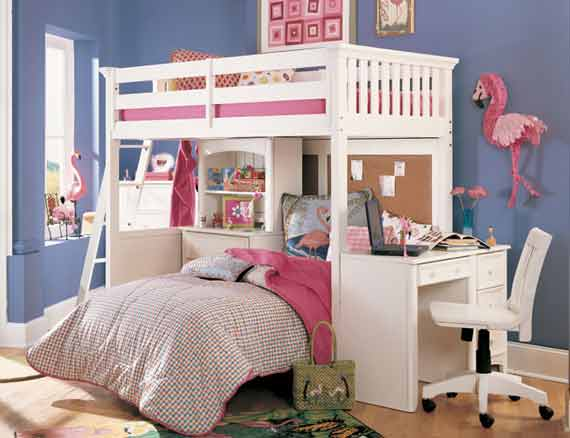 Bunk Beds For Girls Home Designs Project
