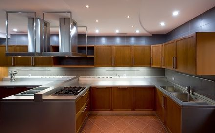 commercial kitchen hoods designs