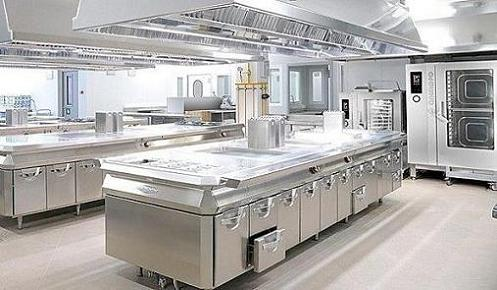 commercial kitchen hoods stainless steel