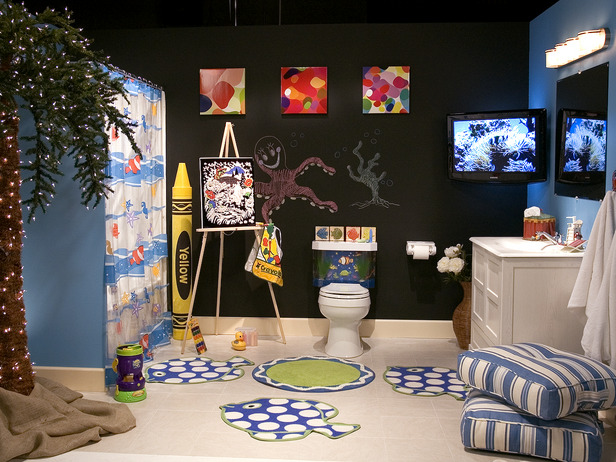 cute kids bathroom ideas
