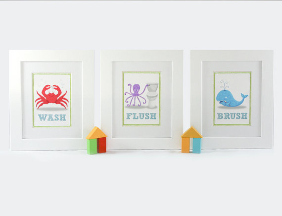 funny bathroom art prints