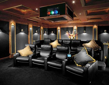 Home Theater Room Design Homehome Garden Charms Pplump