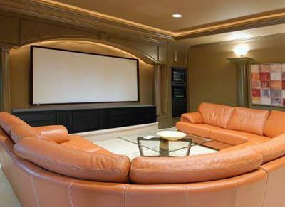 home theater design pictures