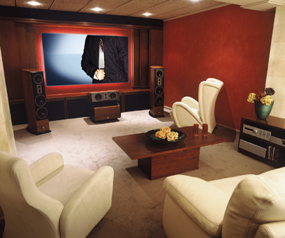 And Another Picture Of Home Theater Design Ideas: